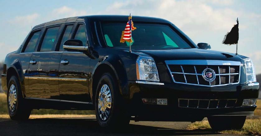 """Biały Dom zamówił dwie """"Bestie"""". Ta, którą w danym momencie podróżuje Donald Trump, nazywana jest """"Cadillac One"""""""