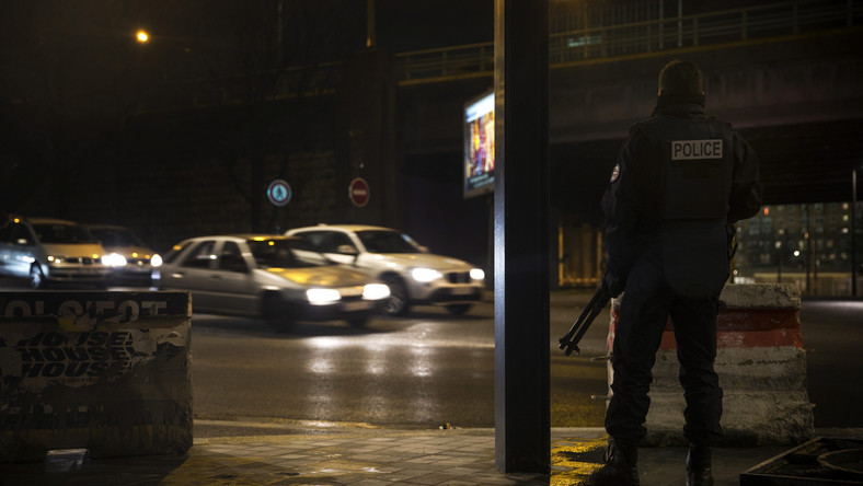 Policjant w Pantin