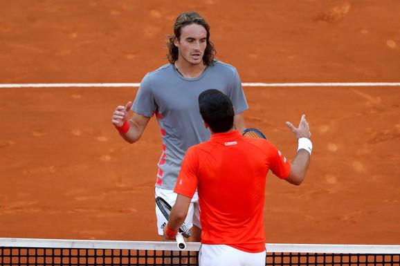 Novak Đoković i Stefanos Cicipas