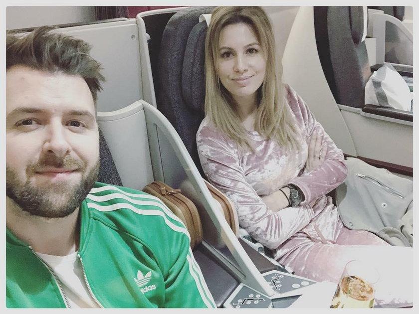 Grzegorz Hyży z żoną