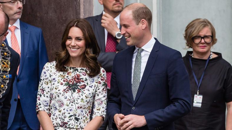 Księżna Kate i książę William dziś z wizytą w Gdańku