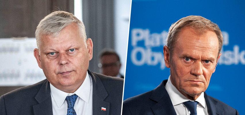 """Marek Suski komentuje słowa Donalda Tuska o reasumpcji głosowania. """"Tak mówi ktoś niedouczony"""""""
