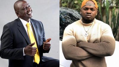 DP Ruto responds to Khaligraph Jones' plea to Help 'Unlock' the Country