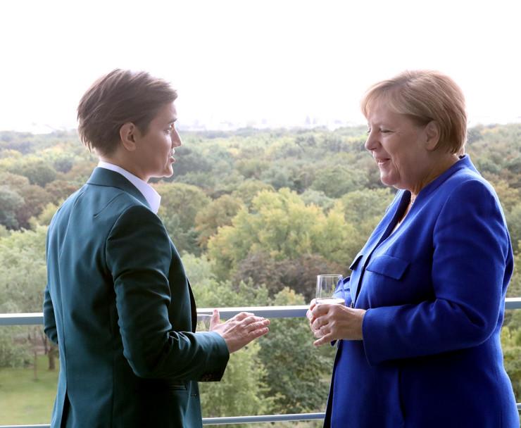 Ana Brnabić i Angela Merkel
