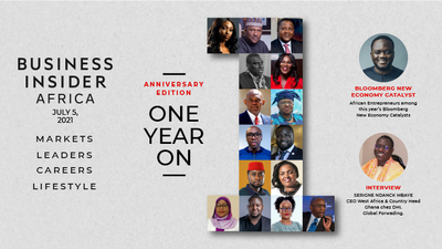 Business Insider Africa - 1st year anniversary & way ahead