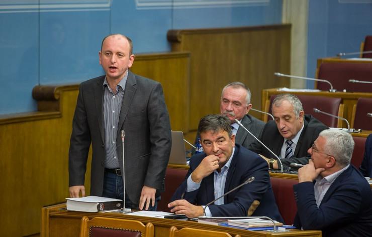 Milan Knežević Skupština Crne Gore