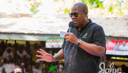 NDC presidential candidate for the 2020 election, John Dramani Mahama