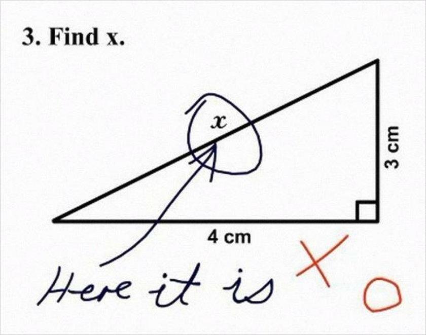 Najgłupsze odpowiedzi na sprawdzianach i egzaminach