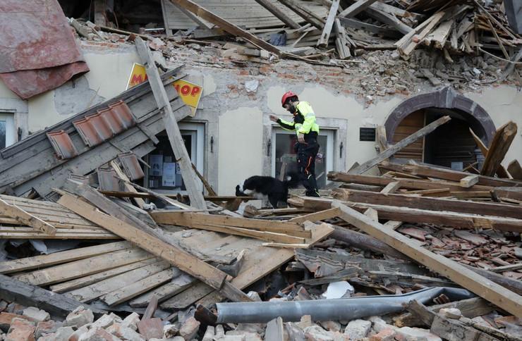 Petrinja zemljotres Hrvatska