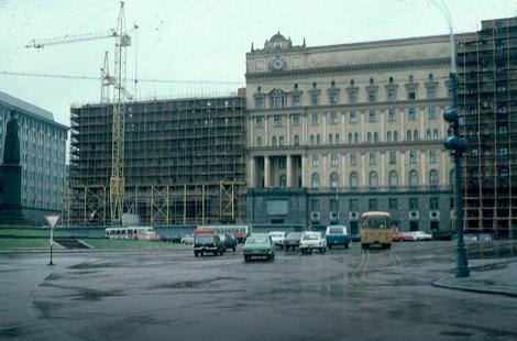Lubjanka tokom renoviranja 1983. godine