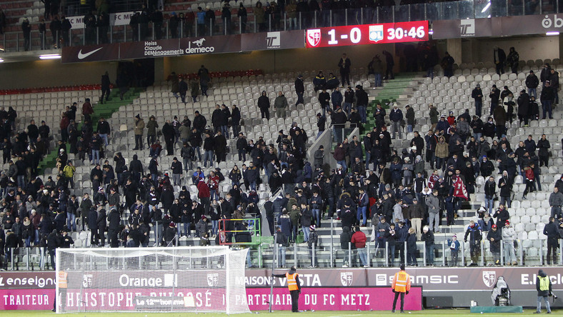 Przerwany mecz w Metz