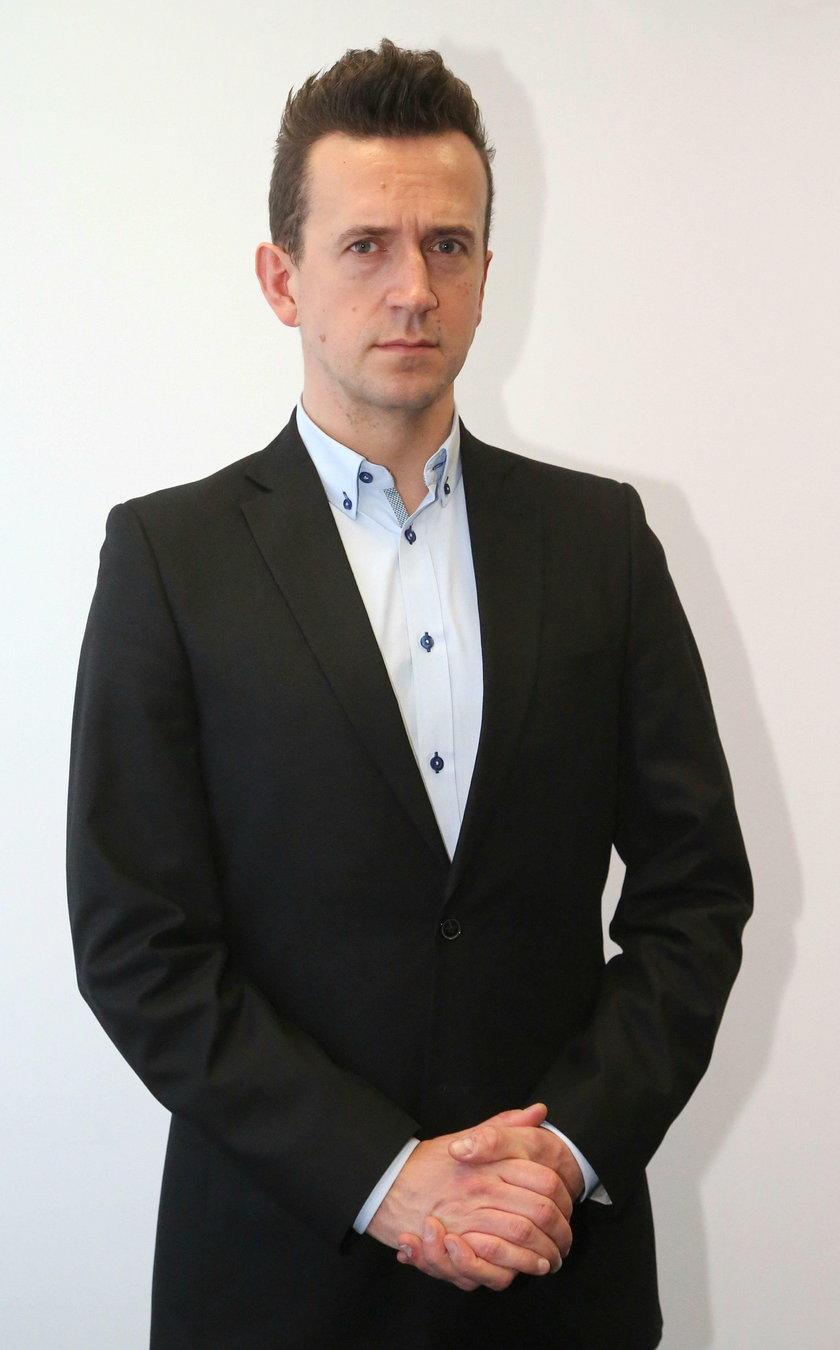 Igor Krajnow (38 l.), rzecznik ZTM