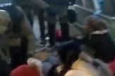 Protest-Vitez specijalci nasrnuli na zene