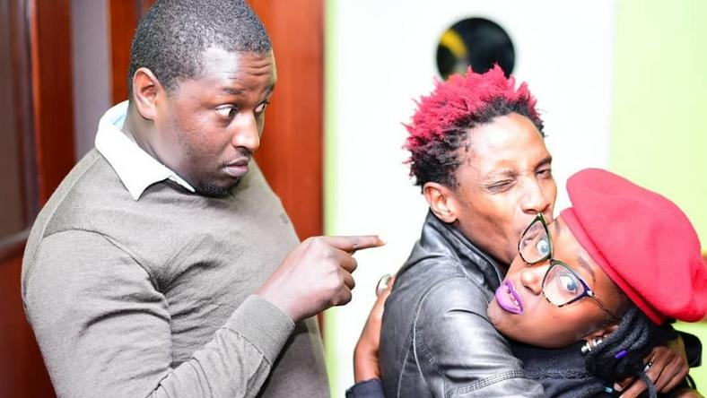 Image result for eric omondi in Kasarani with Terence creative