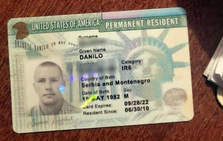 Danilo je uhapšen na Haitiju, a radio je kao specijalac