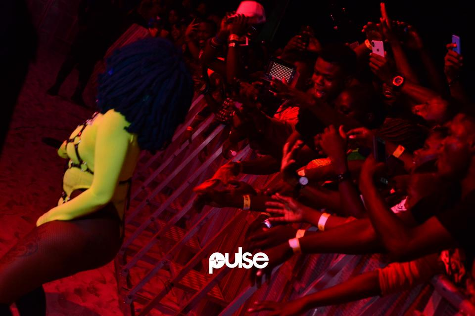 Moonchild Sanelly performing live at Gidifest 2019