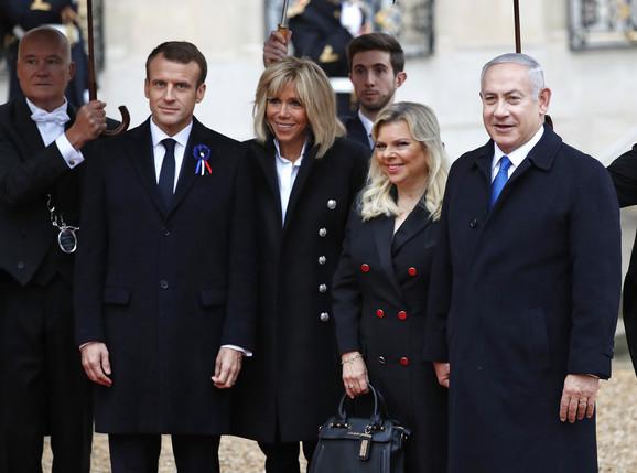 Makron dočekao izraelskog premijera Benjamina Nertanijahua