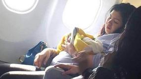 Urodziła na pokładzie samolotu. Dziecko otrzymało wyjątkowy prezent