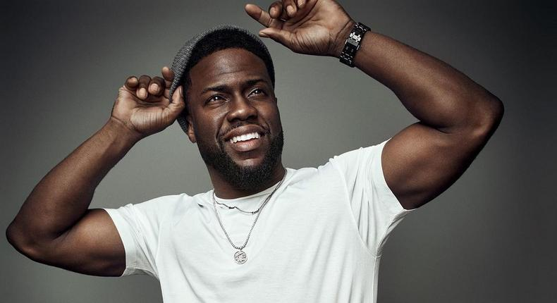 American comedian and actor Kevin Hart [Instagram/KevinHart4Real]