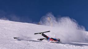 Więcej wypadków na stokach narciarskich