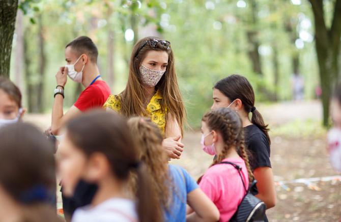 Princeza Ljubica Karađorđević sa mališanima na trečem Dečjem festivalu Oplenac, foto: ustupljena fotografija/Nenad Jakovljević