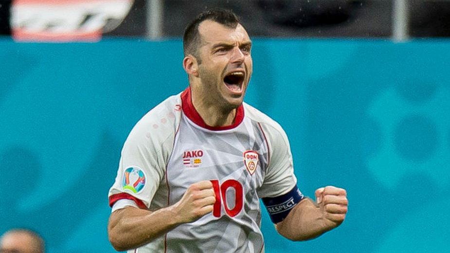 Goran Pandev w barwach Macedonii Północnej