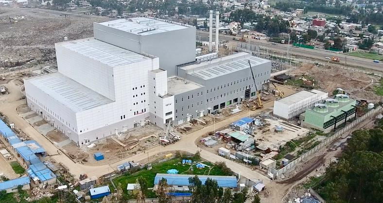 Reppie Waste-to-Energy Power Project plant in Addis Ababa, Ethiopia