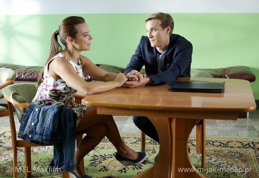 Magda (Anna Mucha) i Olek (Maurycy Popiel) marzą o dziecku