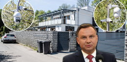 """""""Gazeta Wyborcza"""": Niebezpieczne chińskie kamery wokół willi Dudy"""