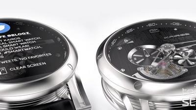 Mechanische Smartwatch mit Android Wear von Kairos