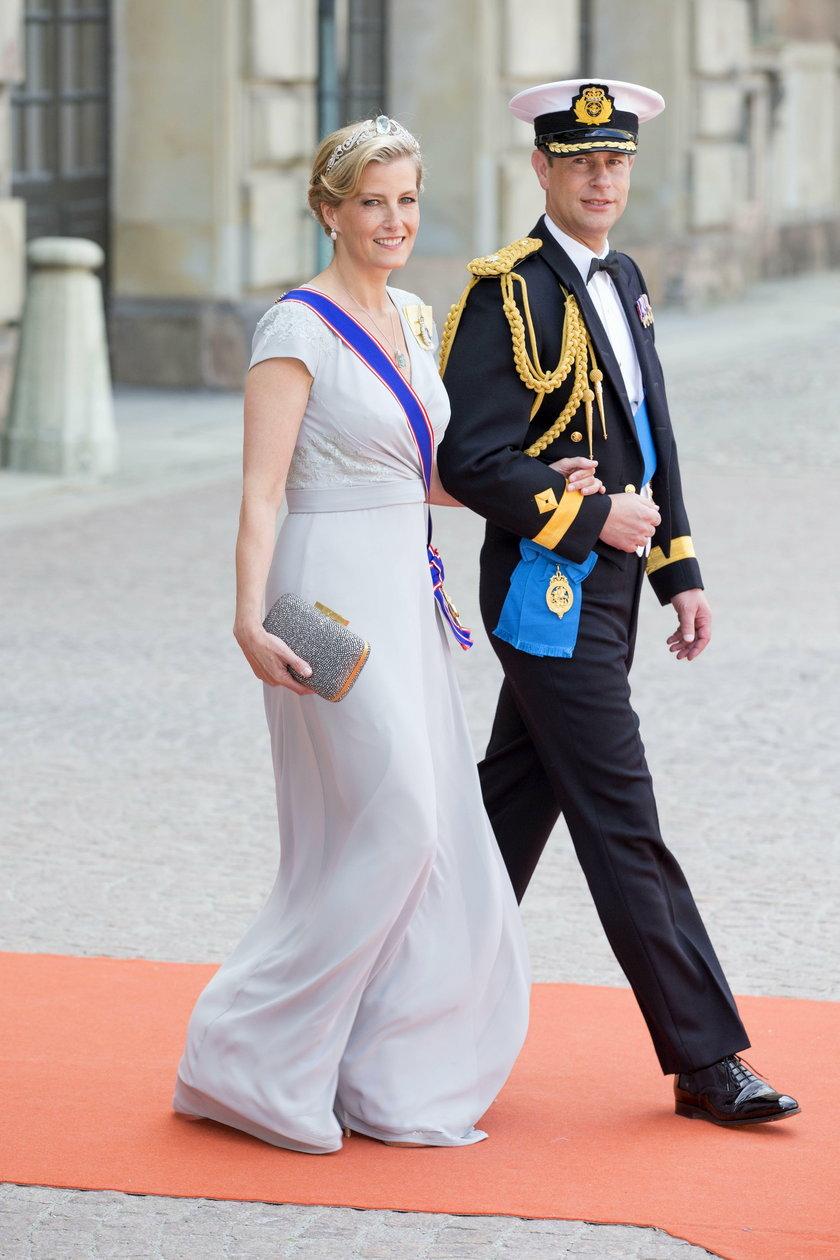 Książę Edward i jego żona Sophie hrabina Wessexu