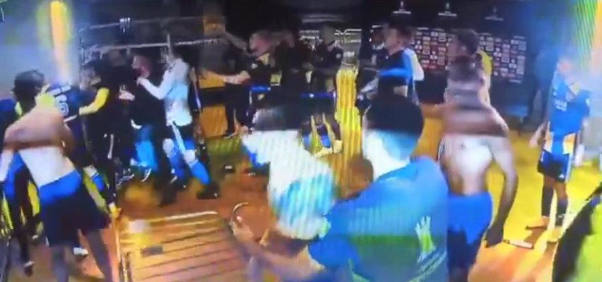 Dantejskie sceny po meczu. Piłkarskie gwiazdy wpadły w furię, policjanci musieli użyć siły! Szokujące nagranie