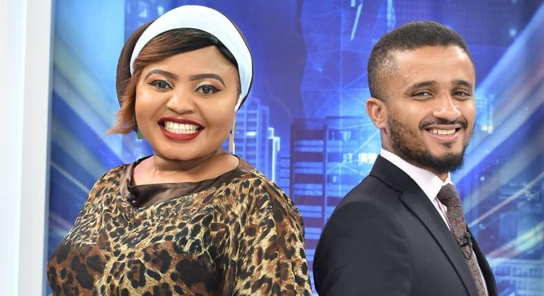 Mwanaisha with Ahmed Bhalo. Former K24 News anchor Ahmed Juma Bhalo lands new job months after being fired