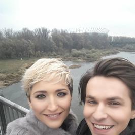 Magda Steczkowska i Kuba Molęda na planie nowego teledysku