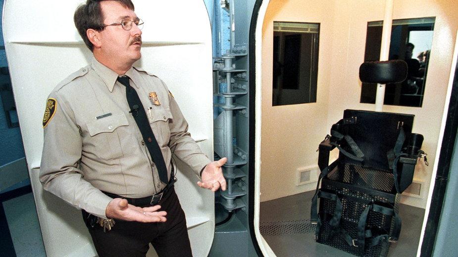 Komora do wykonywania kary śmierci we Florence, Arizona