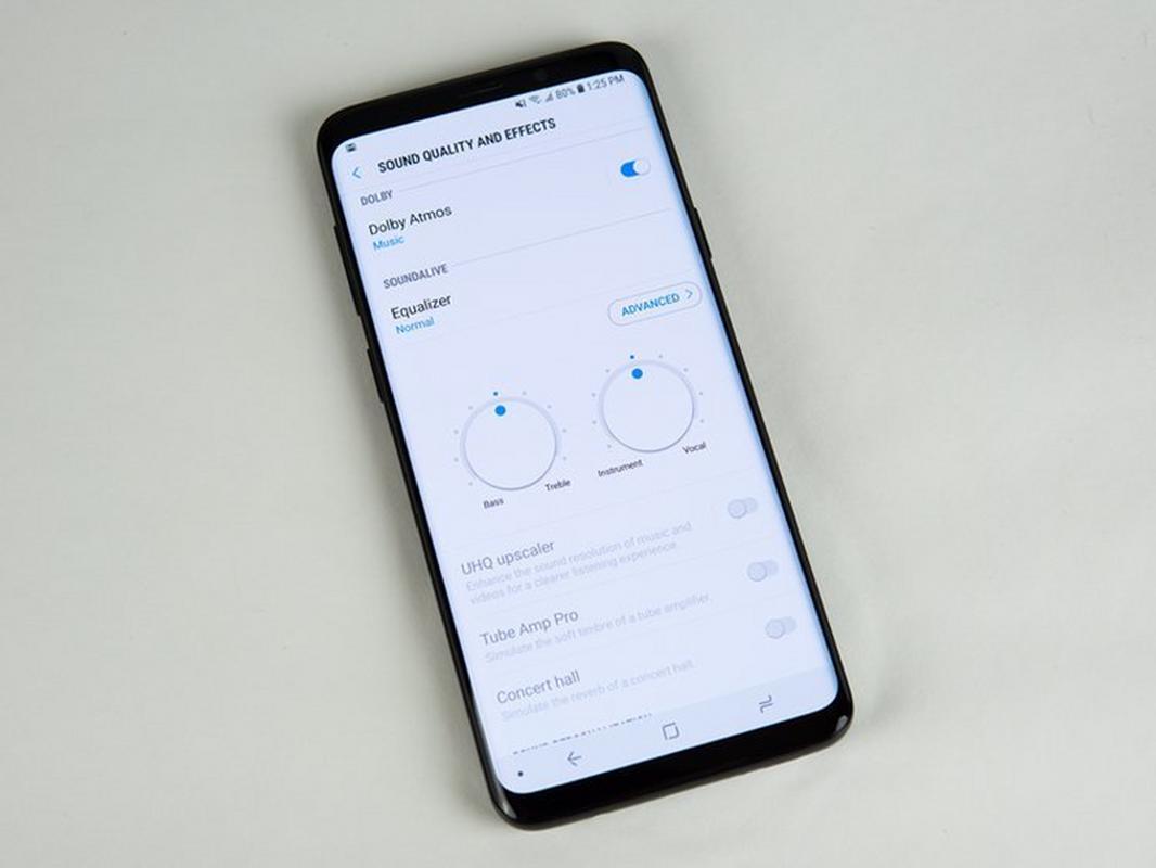 Samsung Galaxy S9 Sound Settings