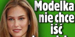 Modelka nie chce iść do wojska