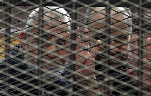 Wyrok śmierci orzeczony wobec lidera Bractwa Muzułmańskiego jest ostateczny EPA/STR/PAP