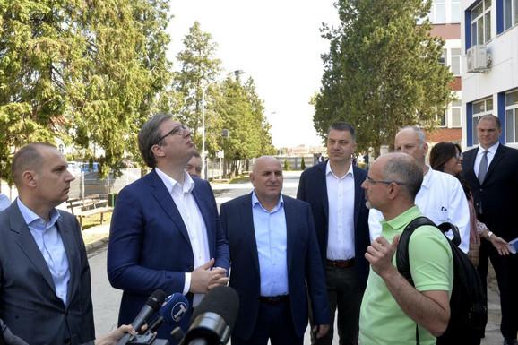 Vučić u Loznici.