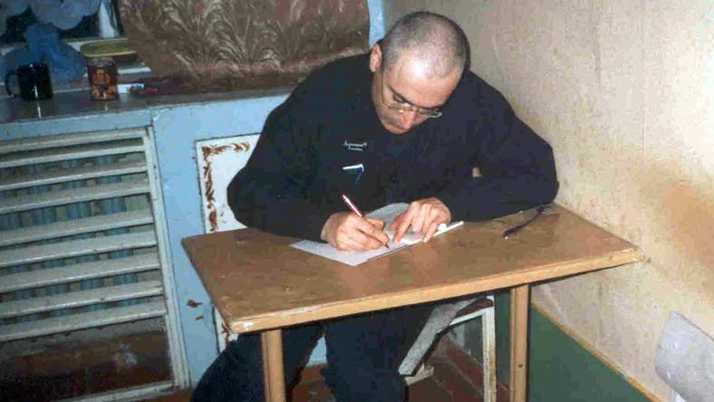 Chodorkowski więzienie kolonia karna Syberia