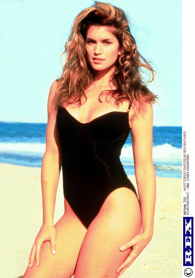 Cindy Crawford w 1991 roku