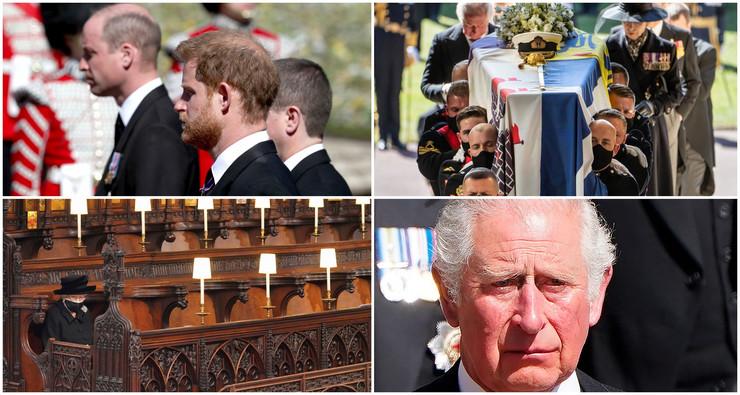 Princ Filip, sahrana