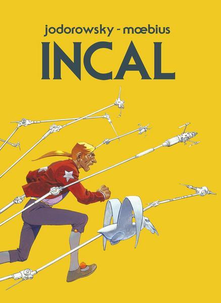 """""""Incal. Wydanie Exclusive"""" (okładka)"""