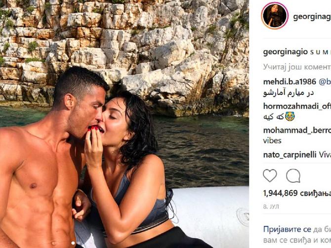 Ronaldova verenica obukla TANGE, Instagram se jedva drži: Žene joj zavide, muškarci kivni na fudbalera