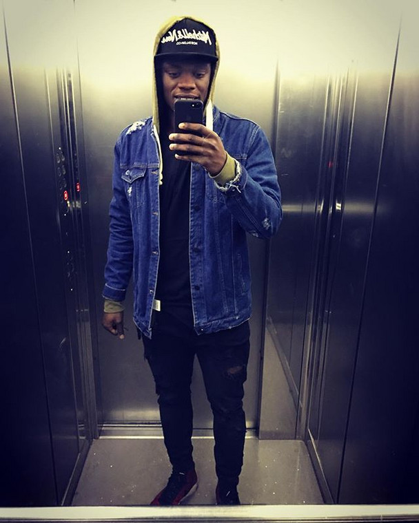 8 fashionable photos of Ghanaian player, Ekuban Caleb