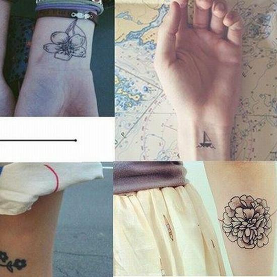 Małe Tatuaże 50 Zdjęć