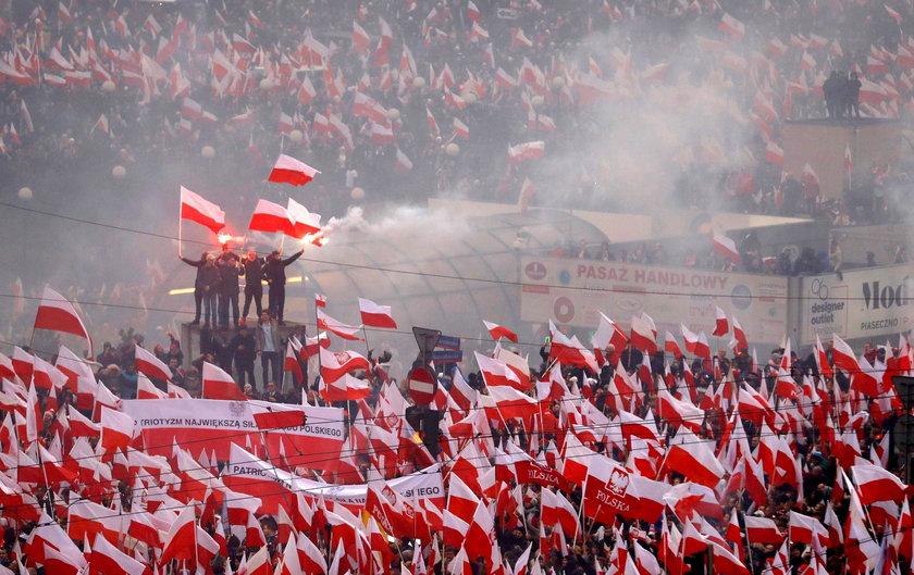 Tysiące policjantów na ulicach Warszawy. Stolicę będą patrolować śmigłowce