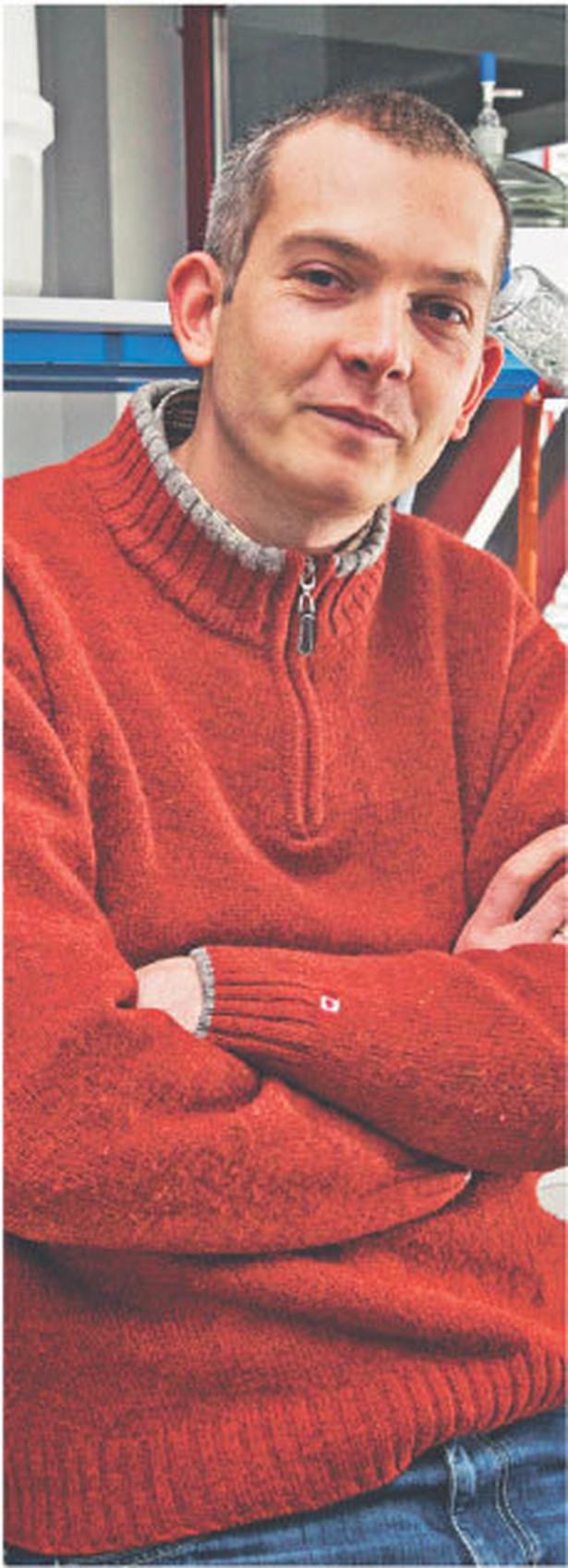 Michał Bieniek, doktor chemii, założyciel firmy Apeiron Synthesis Fot. Miłosz Poloch