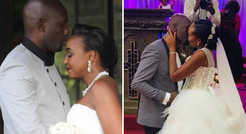 Key similarities and differences between Dennis Okari's 2 weddings