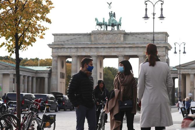 Maske na ulicama Berlina